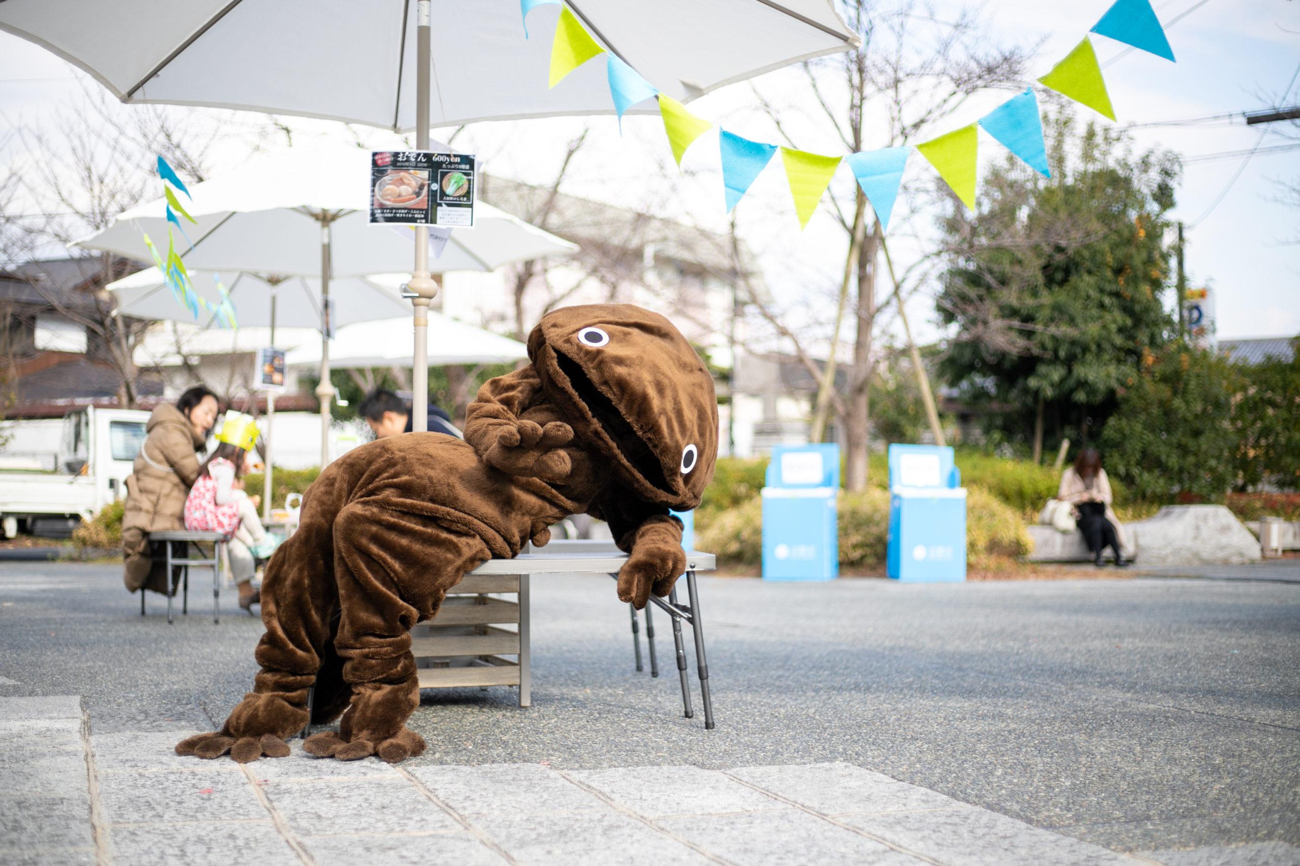 阪急嵐山駅前『キャラクターひろば2019』12月 記録撮影