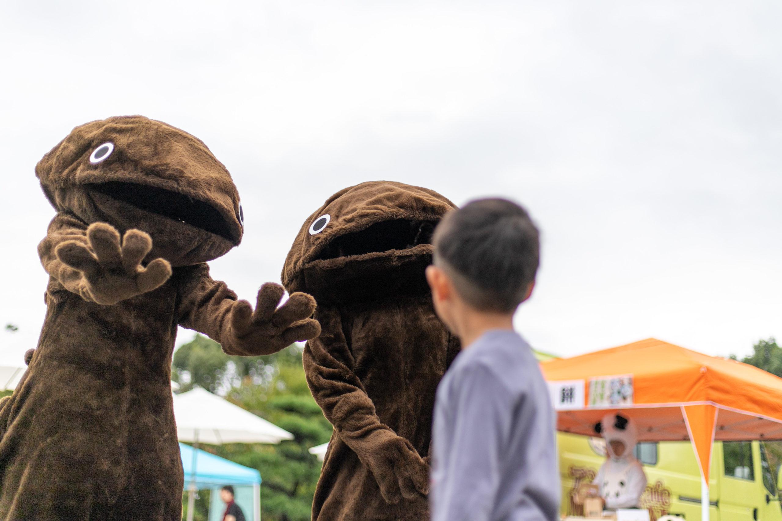 阪急嵐山駅前『キャラクターひろば2019』10月 記録撮影