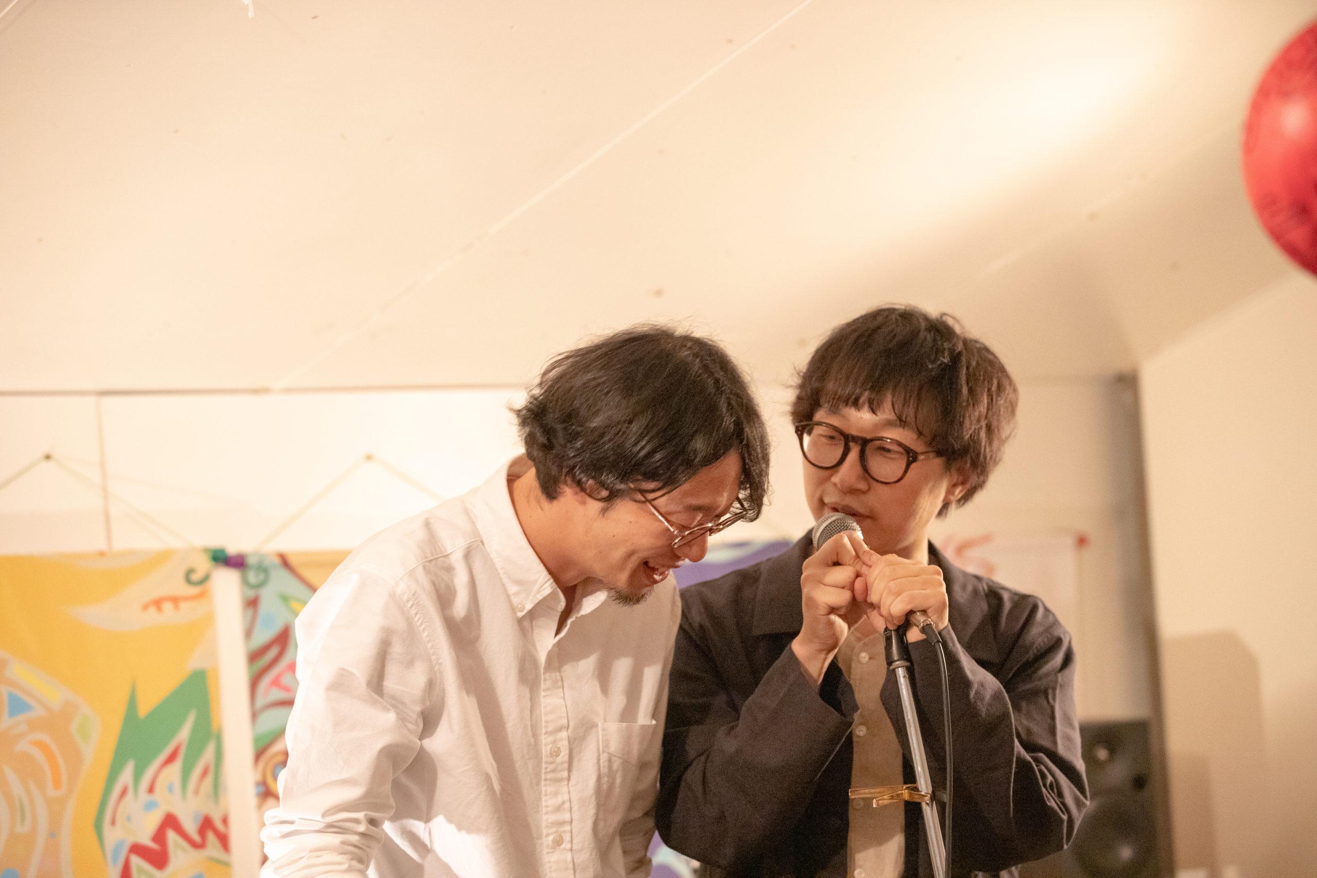 森本真伍(soratobiwo)、北小路直也『5月の深海魚』ライブ写真