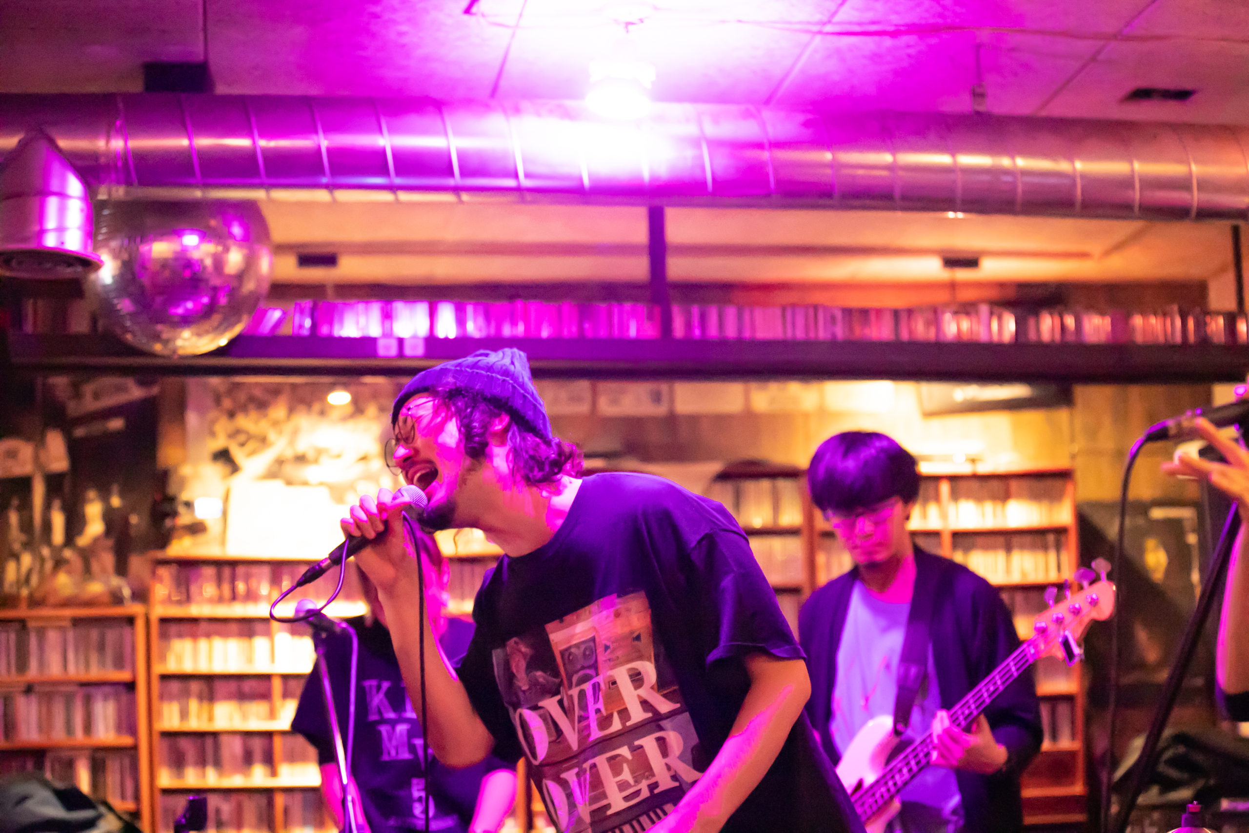 KINEMAS『KINEMAS SHOW in KOREA at Strange Fruit Seoul』ライブ写真