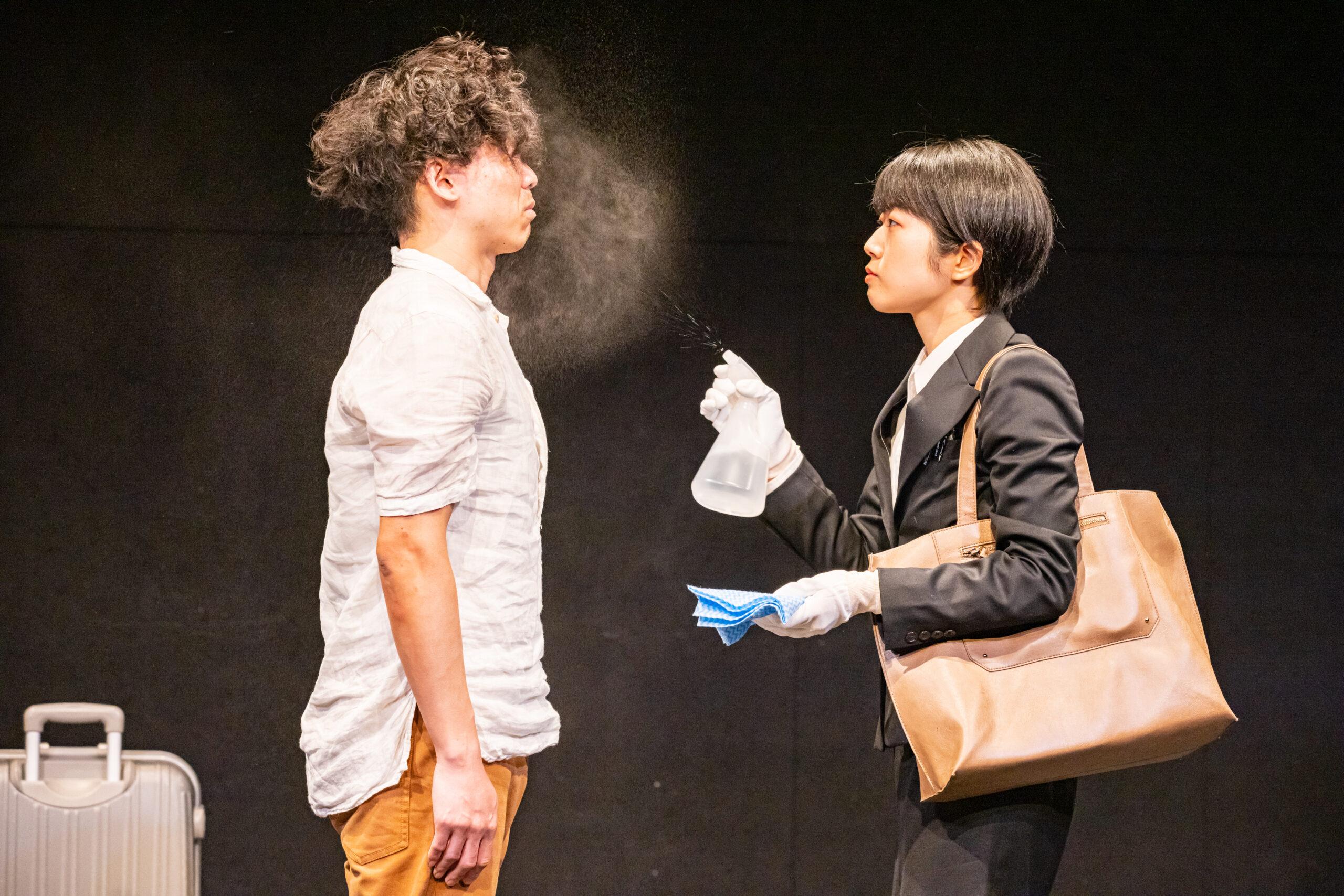news | artscapeに若だんさんと御いんきょさん『棒になった男』の公演レビューが掲載されています。